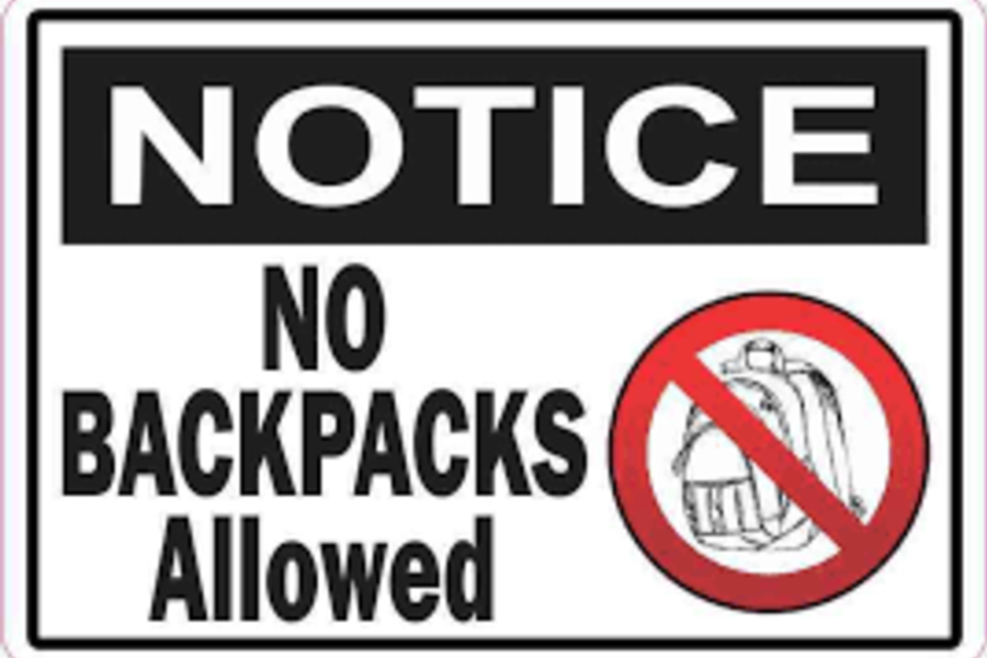 Bag Restrictions for Athletic and Art Events